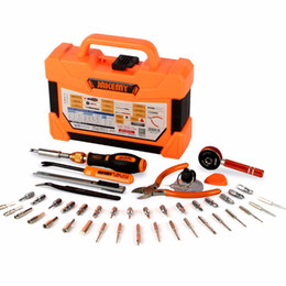 tool box screwdriver set NZ - 47 pcs Multifunctional precision magnetic screwdriver set Household tools kit hand tools set box Tweezers