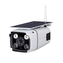 Access Cameras Australia - Solar Powered Wireless Camera WiFi IP Security Solar CCTV Camera Built in Rechargeable Battery, SD Card Storage, IP67 Waterproof, Remote APP