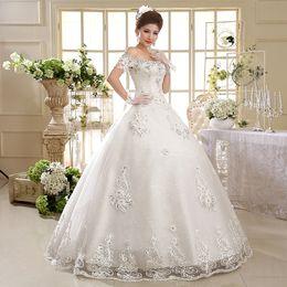 Fantasy pictures online shopping - Wedding dress floor length beautiful crystal flowers sequins sexy back design fantasy bride dress wedding dress Robes De Mariée Plus