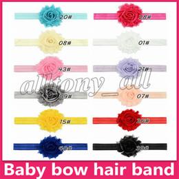 $enCountryForm.capitalKeyWord Australia - European and American baby candy colors Bow headband 12 colors baby girl elegant hair bows accessories