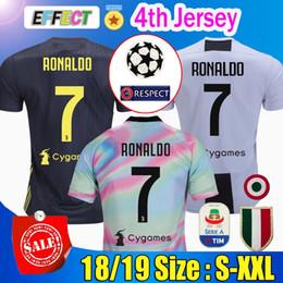 Tailândia #7 RONALDO JUVENTUS Soccer jerseys 18 19 JUVE 2018 Home Away terceiro homens mulheres CR7 DYBALA MATUIDI BERNARDESCHI KHEDIRA CHIELLINI camisetas futbol camisas Maillot camisa de futebol