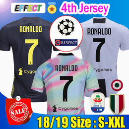 24dea6b4acee1 Tailandia  7 RONALDO JUVENTUS fútbol camisetas 18 19 JUVE Soccer Jersey  2018 casa lejos tercera hombres mujeres CR7 DYBALA MATUIDI KHEDIRA  CHIELLINI ...