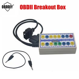 $enCountryForm.capitalKeyWord Australia - Breakout Box OBDII OBD OBD2 Break Out Car Protocol Detector Auto Can Test Automotive Connector Car-detector