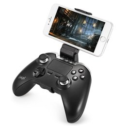 Tablet Wireless Controller UK - IPEGA Wireless Bluetooth Joystick Gamepad Gaming Controller Mouse TouchPad for Android pubg Tablet PC Smartphone PG-9069 BA