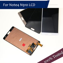 5.7 lcd Australia - ORIGINAL 5.7''LCD Replacement for SAMSUNG Galaxy Note 4 Note4 N910 N910C N910A N910F N910H LCD Display Touch Screen Digitizer Ypf27-56