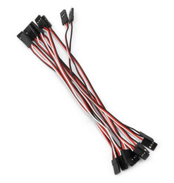 $enCountryForm.capitalKeyWord NZ - 300 mm RC Servo Extension Cord Cable Wire Lead for RC Car Helicopter For Remote Controller and JR ReceiverAccessories
