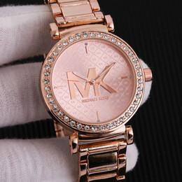 Watches Gifts For Girlfriend NZ - 2019 New Design M0MK Luxury Women Watches High Quality Quartz Wristwatch Casual Watch Gift For Girlfriend