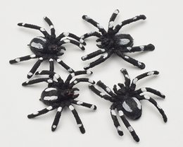 $enCountryForm.capitalKeyWord Australia - Plastic Simulate Spider Simulation Fake Insect Prank Trick Funny April Fools' Day Gift Horror Scary Toys