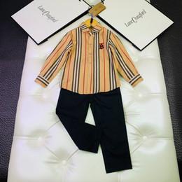 $enCountryForm.capitalKeyWord Australia - Autumn kids clothes boys' suit handsome suit casual trousers with letter shirt suit best selling casual