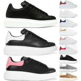 Homem de luxo Designer de Sapatos Casuais de Couro Das Mulheres Dos Homens de Moda de Couro Branco Sapatos Confortáveis Casual Plana Sneaker Jogging Diário Barato À Venda venda por atacado