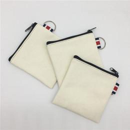 $enCountryForm.capitalKeyWord NZ - New blank canvas zipper Pencil cases pen pouches cotton cosmetic Bag makeup bag Mobile phone clutch bag F2169