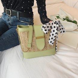 $enCountryForm.capitalKeyWord Australia - 2019 New Square Straw Bags Women Summer Rattan Bag lady Handmade Woven Beach Cross Body Bag Bohemia Handbag travel vocation#N3