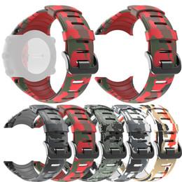 suunto strap 2019 - 2019 Wristband Band Strap for SUUNTO Core Smart Watch Fashion Casual Men Watch Band Sports Breathable Silicone Replaceme
