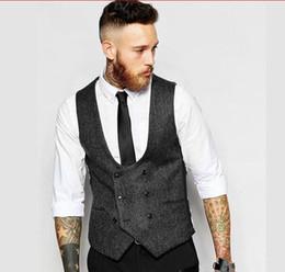 af3da37efa ... apuesto británico chalecos de tweed de la boda chaleco de novio delgado  sastre ajuste para hombre traje chaleco de baile de la boda chaleco envío  gratis