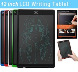 $enCountryForm.capitalKeyWord Australia - 12 inch LCD Writing Tablet Touch Pad Office Electronic Board Magnetic Fridge Message Stylus Kids Birthday Christmas Day Gifts 12inch