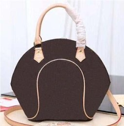 japanese leather bags Australia - Canvas genuine leather Purse for Women fashion designer Totes for lady Japanese medieval classic old flower shell bag women's shopping bag