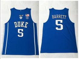 $enCountryForm.capitalKeyWord Australia - Duke Blue Devils College 2018 Basketball Jersey 5 RJ Barrett Blue Embroidered Jerseys