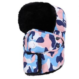 $enCountryForm.capitalKeyWord UK - Hat for man winter wind outdoor thermal cycling cap youth northeast of lei feng's cap thickening earmuffs camouflage warm hat