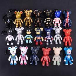 $enCountryForm.capitalKeyWord Australia - Bomgom Cartoon Popobe Gloomy Bear Teddy Bear Cute Keychain Car Key Holder Bag Charm Resin Key Chain Ring Pendant Kids Toy F6