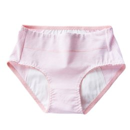 China Pink Elastic Comfortable Cotton Underwear Briefs Trendy Clothes Menstrual Moon Period Women Soft Breathable Leak Proof Panties cheap period clothing suppliers