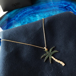 $enCountryForm.capitalKeyWord Australia - 2019 the latest ladies lively, charming and charming tropical coconut necklaces, women's silver pendants, fashion, simple bone chains
