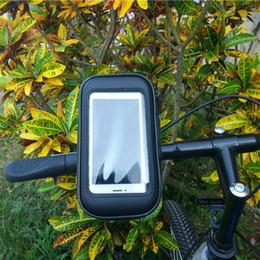 Waterproof Bicycle Mount Australia - Bicycle Phone Holder Bracket Bag Waterproof Motorcycle Bike Cycling Handlebar Mount Holder Case For Smartphone iPhone 5 PJ5 #80333