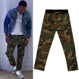 Green biG pocket pants online shopping - RHUDE Pants Men Big Pockets r Joggers Sweatpants Camouflage Trousers Sweat Pants Men Jogger Army RHUDE Camo Pants