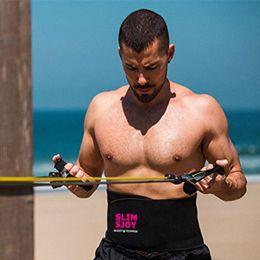 $enCountryForm.capitalKeyWord NZ - YTFAIFEN Slim Sjoy Waist Trimmer Weight loss Belly Band Sweat More Fat Burning Slim Abdomen Body Shaper Sweat Wrap belt