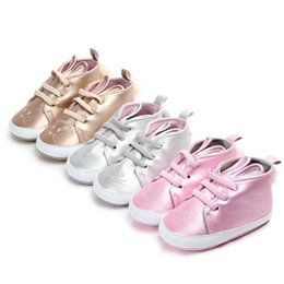 t girl shoes Australia - Infant Newborn Baby Girls Shoes Bunny Autumn Lace-Up First Walkers Sneakers Shoes Toddler Casual Shoes