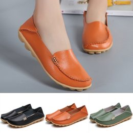 $enCountryForm.capitalKeyWord NZ - 2019 Fashion Women's Soft Bottomed Casual Shoes Round Toe Wild Driving Flats Shoes Simple Style Hot Sale high quality brand