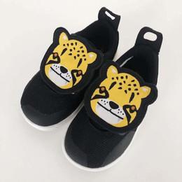 $enCountryForm.capitalKeyWord NZ - 2019 new summer Durant yellow tiger head black little leopard head children's one foot children's shoes