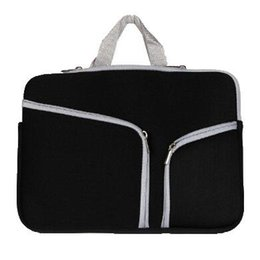 Laptop handbag 15 online shopping - Slim Laptop Protective Case Zipper Bag Sleeve Pouch Handbag For Macbook Air Pro Retina inch Storage Bag Travelling Bags Durable