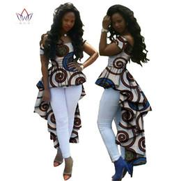 $enCountryForm.capitalKeyWord Australia - Summer Top African Clothes African Wax Cotton Print Dresses For Women Dashiki Plus Size Robes Pour Les Femmes Africai Wy615 Y190410