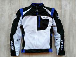 $enCountryForm.capitalKeyWord Australia - 2018 Motorcycle Racing Jacket For Yamaha Black and White Racing Jacket Autombile Race Clothing Motorcycle Clothes