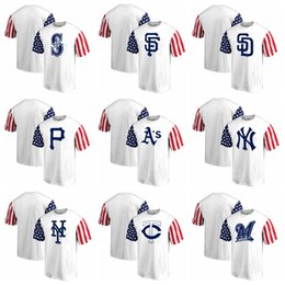 597a8b934 Star StripeS ShortS online shopping - Men Brewers Twins Mets Yankees  Athletics Stars amp Stripes T