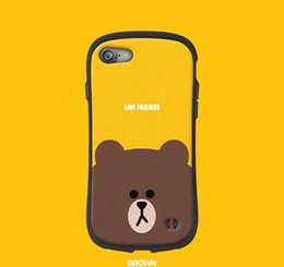 $enCountryForm.capitalKeyWord UK - Cute bear pattern for Apple 7plus phone case Iphone8 soft XR all-inclusive XS MAX fall prevention