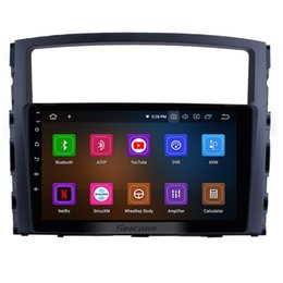 $enCountryForm.capitalKeyWord Australia - 9 inch Android 9.0 HD Touch Screen Car GPS Navigation Radio for 2006-2017 MITSUBISHI PAJERO V97 V93 with Bluetooth USB support car dvd 3G 4G