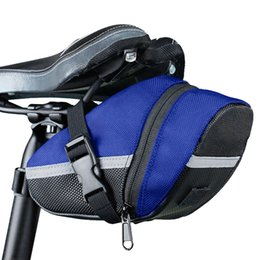durable backpacks waterproof Australia - 3 Color Nylon Bicycle Bag Bike Waterproof durable Storage Saddle Bag Seat Cycling Tail Rear Pouch Saddle accessories bicicleta