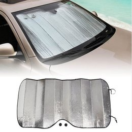 car windscreen cover Canada - Car Auto Front Window Sunshade Anti Snow Shield Covers Windshield Sunshade Windscreen Dust Protector Screen Cover Protector