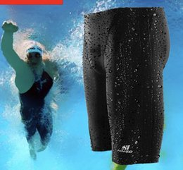 $enCountryForm.capitalKeyWord NZ - Professional Men Competitive Swim Trunks Shark Skin Swimwear Elastic Quick Drying Breathable Men's Swimming Trunks Waterproof Speed Swim Sh