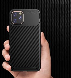 $enCountryForm.capitalKeyWord NZ - Candy Color Matte Phone Rugged Armor Hybrid Shockproof Carbon Fiber Soft TPU Rubber Cover Case For iPhone 11 Pro Max XS XR X 8 7 6 6S Plus
