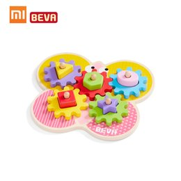 Diy Boys Toys UK - Xiaomi BEVA Kids Building Blocks DIY Educational Toy Gear Blocks Early Educational Toys For Smart Home Gifts for Kids Boys