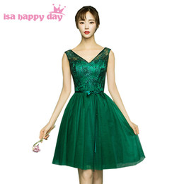 Party chiffon dresses for teens online shopping - lace appliques green tan bridesmaid robes womans dresse party dresses for teens bridesmade dress classy knee length gowns