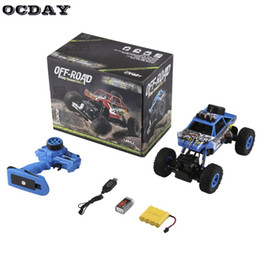 Discount racing battery box - 1:18 Electric Off-Road King Turned Climb RC Car High Speed Remote Control Racing Rock Crawler With Strong Climbing Abili