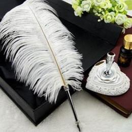 $enCountryForm.capitalKeyWord Australia - Free Shipping 12-14inch White Ostrich Feathers plumes Wedding centerpiece decoraction Wedding Table centerpiece party event decor z134A