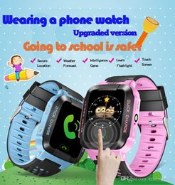 $enCountryForm.capitalKeyWord Australia - Yisailing Q528 Smart Watch Phone Y21 Children Kid GPS SmartWatch Touch screen SOS GSM GPS LBS Locator Tracker for ios android
