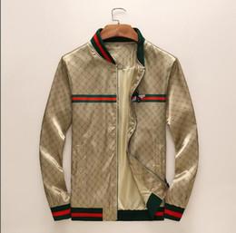 592d061d3e Diseñador de moda chaqueta rompevientos manga larga para hombre chaquetas  con capucha ropa cremallera con el patrón de letra animal más el tamaño de  ropa M- ...
