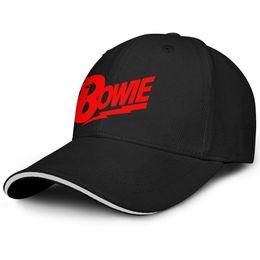 $enCountryForm.capitalKeyWord Australia - Fit Men Women ball cap David Bowie logo red custom baseball hats Dyed hats 100% Cotton