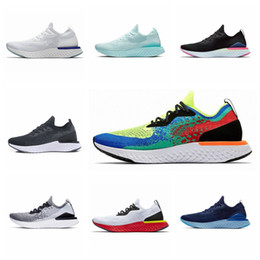 New online shopping - New Epic React Instant Go Fly S0UTH Running shoes Men Belgium Be true Racer Blue Platinum Blue Glow Women Athletic Sports Sneakers