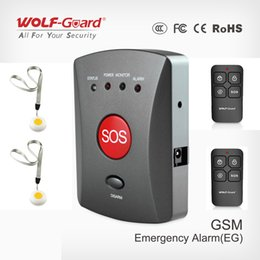 $enCountryForm.capitalKeyWord Australia - Wolf-Guard Wireless GSM SMS SOS Button Panel with SOS Panic Button Remote for Elder Children Emergency Home Alarm Security System 433MHZ